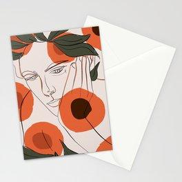 Peachy Days Stationery Cards
