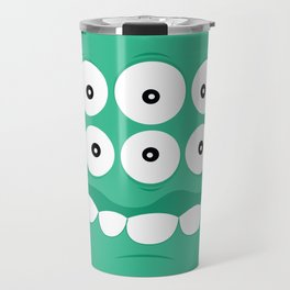 Psychos - Crazy Monsters (Turquoise) Travel Mug