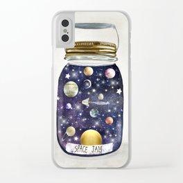 space jam jar Clear iPhone Case