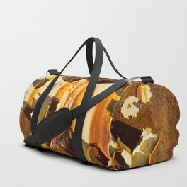 Paint on rust Duffle Bag