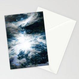 Orion Nebula Blue & Gray Stationery Cards