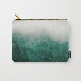 Misty Moody Mountain Forest Fog Northwest Oregon Washington Carry-All Pouch