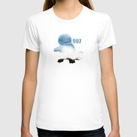 squirtle T-shirts featuring 007 squirtle by Hello Happy