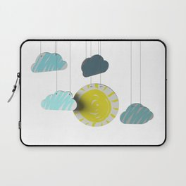 Sunny Day 3D Paper Craft Laptop Sleeve
