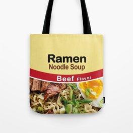 Ramen Noodle Soup - Beef Flavor Tote Bag