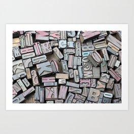 Print Studio Art Print