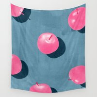 fruit Wall Tapestries featuring fruit 9 by LEEMO