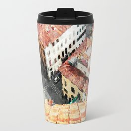 Florence watercolor painting Travel Mug