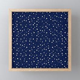 Camping Under the Stars Framed Mini Art Print