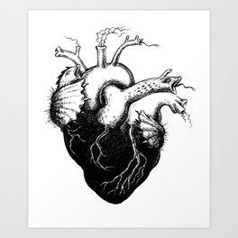 Monstrous Heart Art Print
