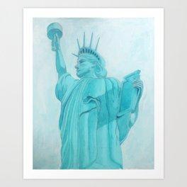 BROOKLYN LIBERTY Art Print