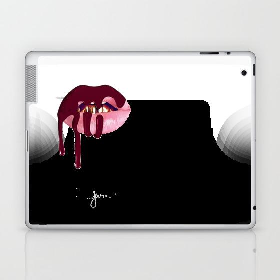 Kylie Jenner Lip Kit Laptop & Ipad Skin by Vortexs LSK8421789