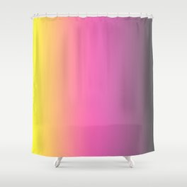 Color Gradient Spring Shower Curtain