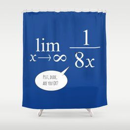 Dilemma Shower Curtain