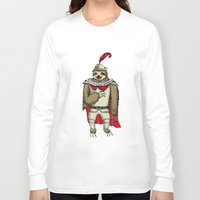 sloth Long Sleeve T-shirts featuring Sloth  by Artifact Supply