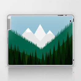 Pacific Northwest Mountains Laptop & iPad Skin