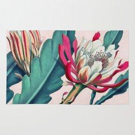 Flowering cactus IV Rug