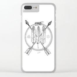 Ouroboros Logos Clear iPhone Case