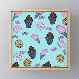 Sweet treats medley Framed Mini Art Print
