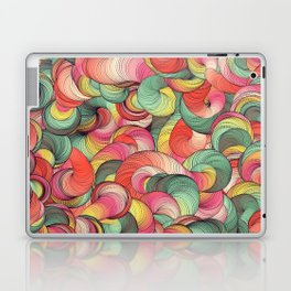 Graphic design seven by Leslie Harlow Laptop & iPad Skin