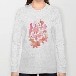 171115 Colour Shape 3 |abstract shapes art design colour |shapes art abstract Long Sleeve T-shirt