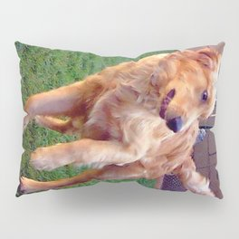 Dogs Playing Pillow Sham
