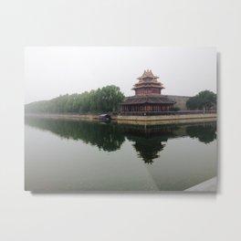 Beijing Metal Print