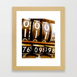 Junk Yard Time Lord Framed Art Print