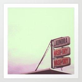 laundra  Art Print