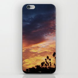 Sunset Storm iPhone Skin