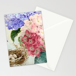 Vintage Flowers #14 Stationery Cards