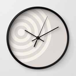 70's Retro Circles Cream - 2 of Series 70's Retro Wall Clock