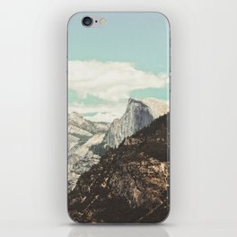 Half Dome Peek iPhone Skin