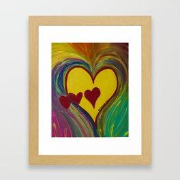 Heart Gallery Framed Art Print