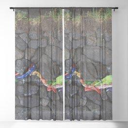 Strata 04 Sheer Curtain