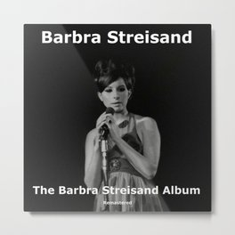 BARBRA STREISAND REMASTERED TOUR DATES 2019 BATAGOR Metal Print