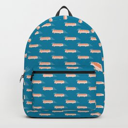 Travel pattern with Backpack