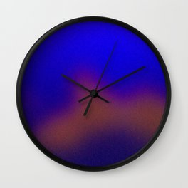 Cobalt Blues Wall Clock