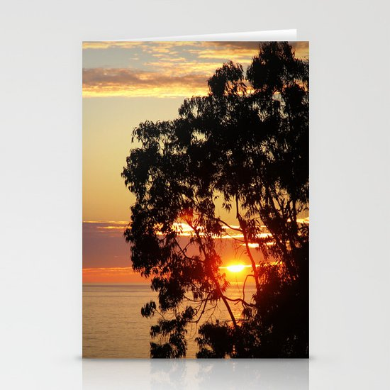 beautiful ending  Stationery Cards