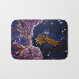 Lily the Lionhearted Bath Mat