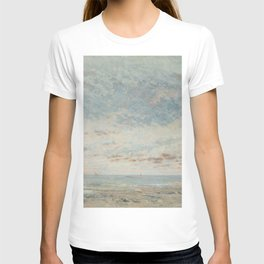 """Gustave Courbet """"Low Tide at Trouville"""" T-shirt"""