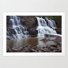 Lower Gooseberry Falls Art Print