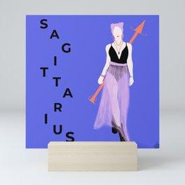 SAGITTARIUS Astrological Sign Digital Print Mini Art Print