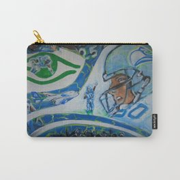 Fan Collage Carry-All Pouch