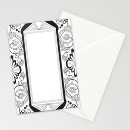 Grapeleaves Deco Stationery Cards