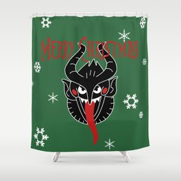 Merry Christmas! Shower Curtain