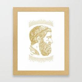 Holy Beard Framed Art Print
