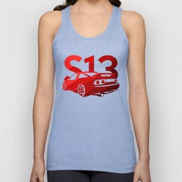 Nissan S13 - classic red - Unisex Tank Top