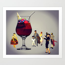 MixMotion: Cobbler Family Art Print