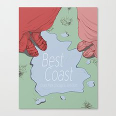 Best Coast  Canvas Print